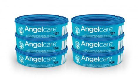 Angelcare rezerva cos ermetic pentru scutece murdare 6 buc